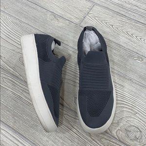 Mix No. 6 Gray Knit Slip-on Sneakers - sz 9.5